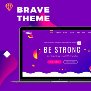 Brave Multi-purpose Theme