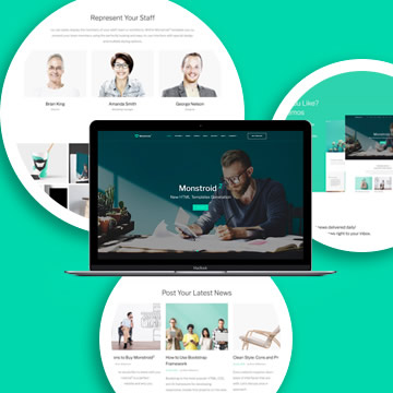 Monstroid 2 HTML Template