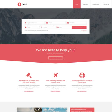 Level HTML Template