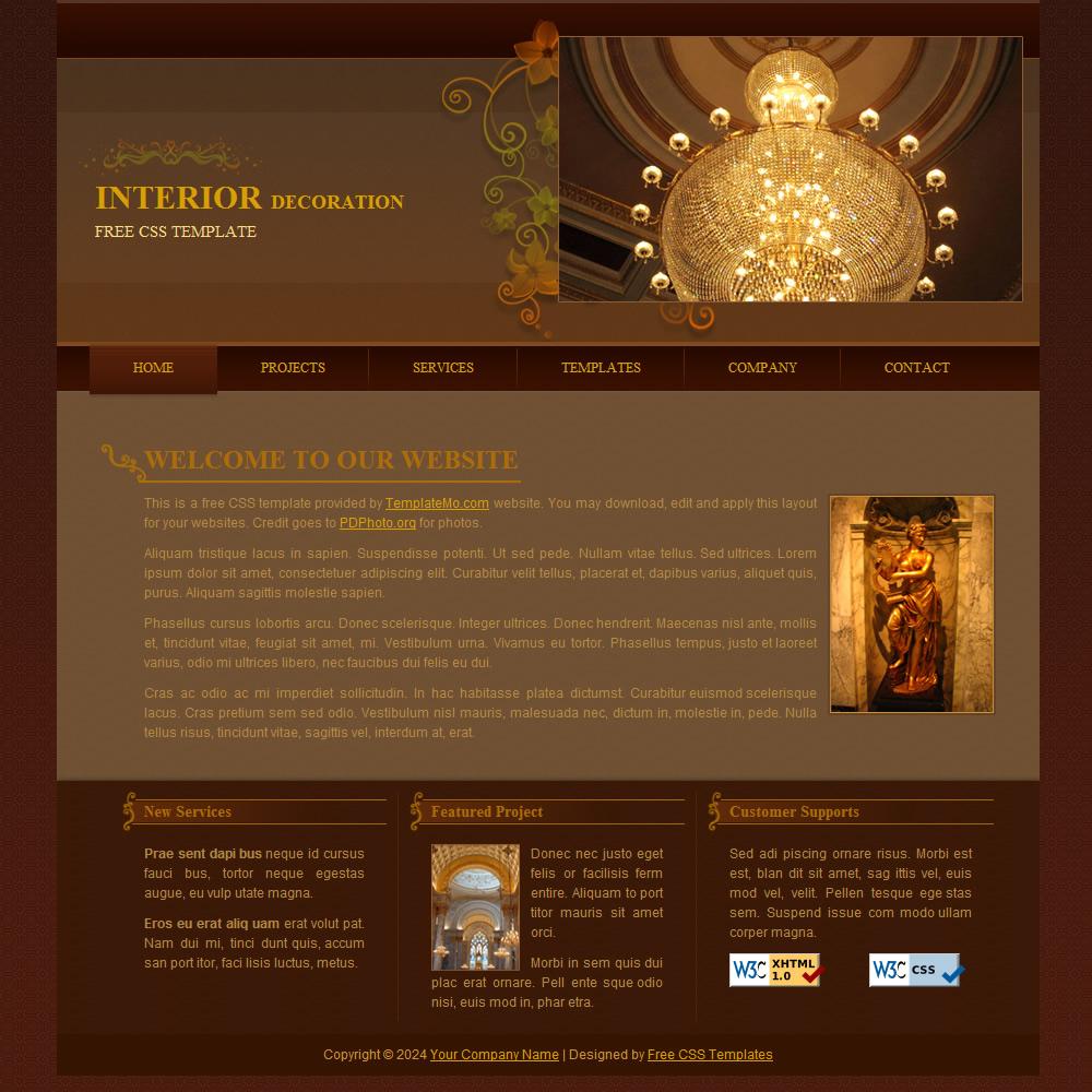 Free Template 158 Interior,Craftsman Home Designs