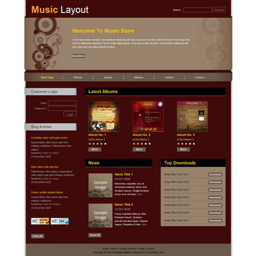 Music Template