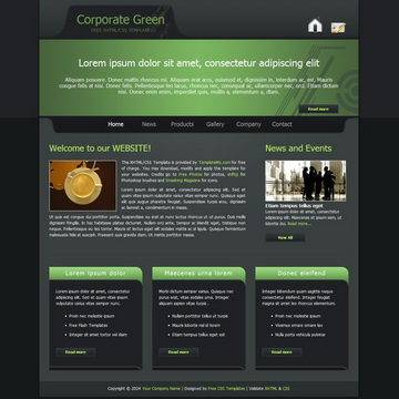 Corporate Green Template