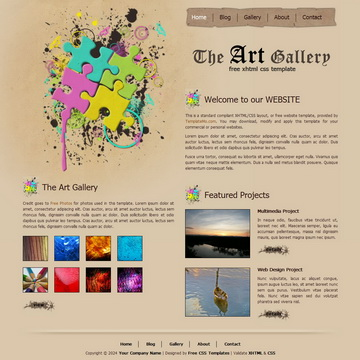 Art Gallery Template