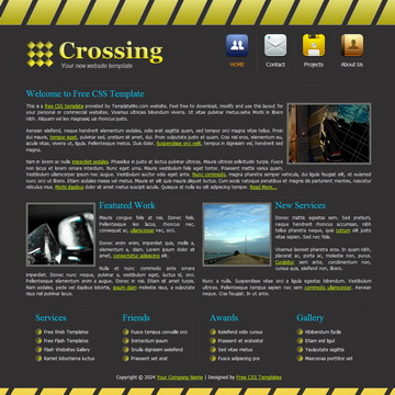 Crossing Template