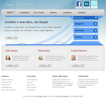 Light Space Template