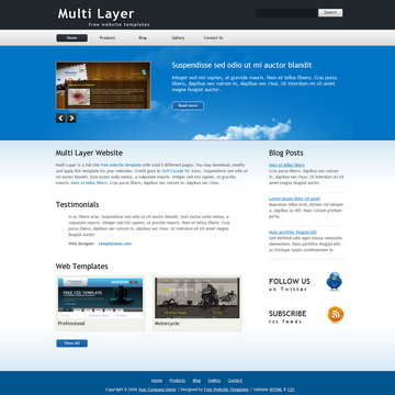 Multi Layer Template