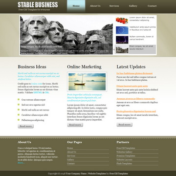 Stable Business Template