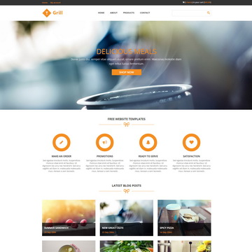 520 free html css website templates on templatemo