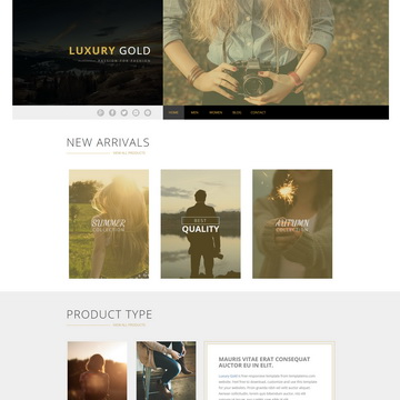 Luxury Gold Template