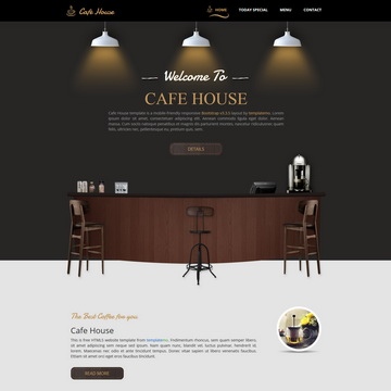 Cafe House Template