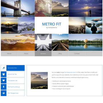 Metro Fit Template