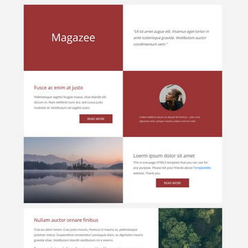 Magazee Template