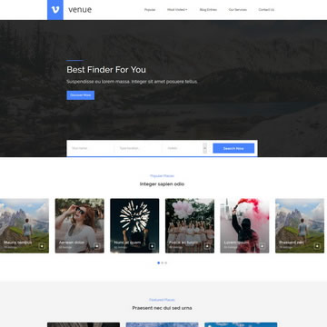 Free Bootstrap Website Templates by TemplateMo